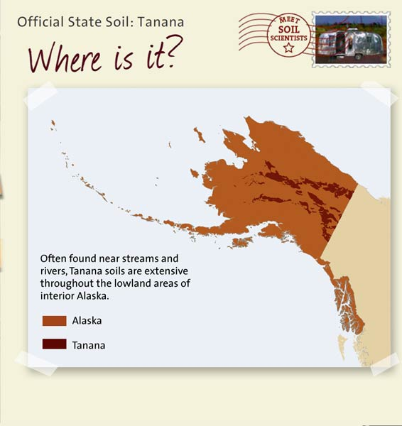 State soils alaska for What is found in soil