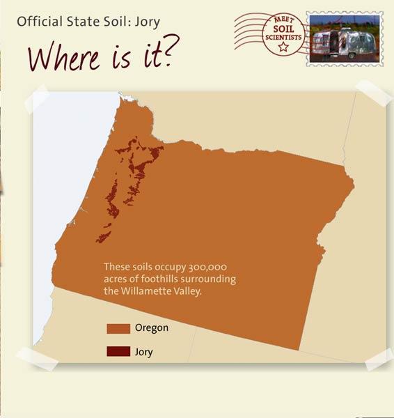 State soils oregon for Soil 205 oregon state