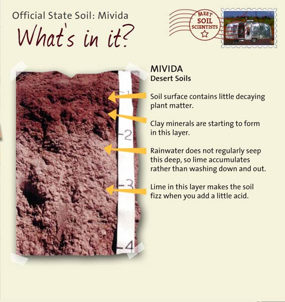 State soils utah for What soil contains